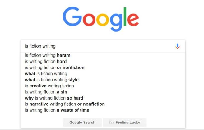 is fiction writing google