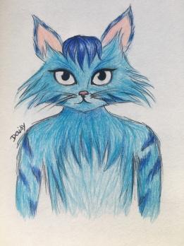 someone drew it Pinti by catsaredragons on Wattpad