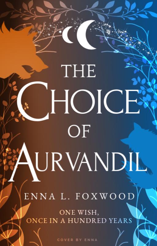 The Choice of Aurvandil typography legal no shadows wish tagline c